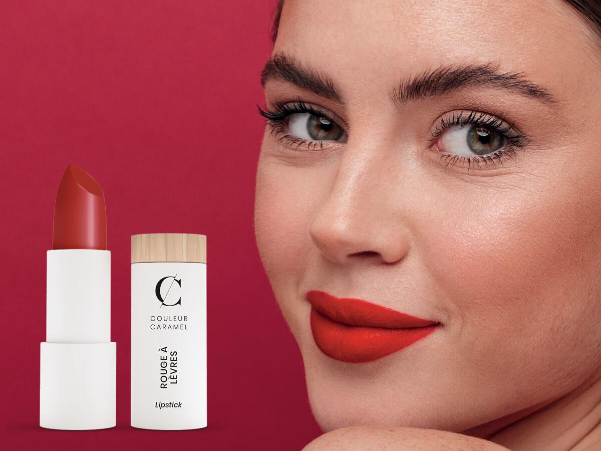 Offre sur l'achat d'un rouge à lèvres de la marque <i>Couleur Caramel</i>